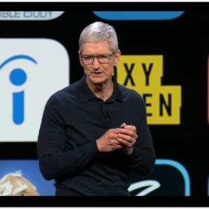 O executivo-chefe da Apple, Tim Cook