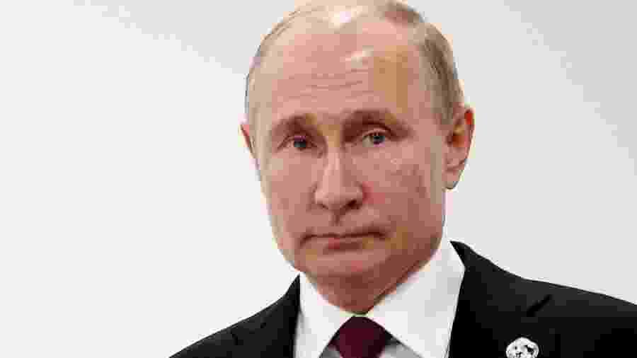 O presidente russo Vladimir Putin - EPA