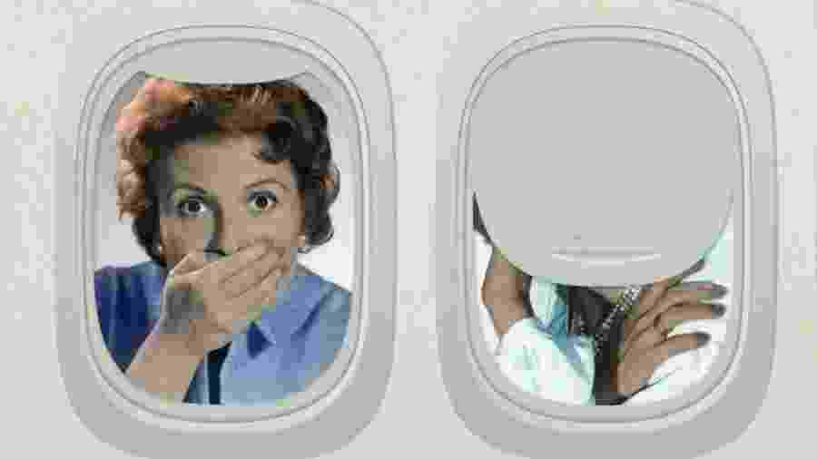 """Já ouviu falar na """"vergonha de voar""""? É um bom vocábulo """"climático"""" a acrescentar neste início de século 21 - Getty Images/BBC"""