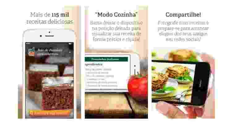 Cyber Cook Receitas: Aplicativos para ajudar quem gosta de cozinhar - Reprodução - Reprodução