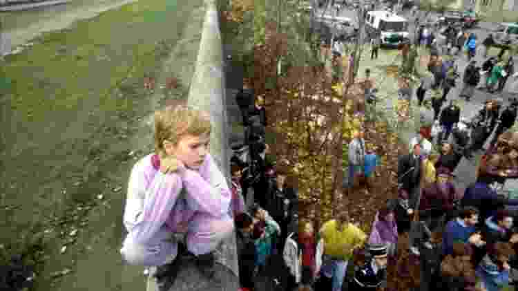 O Muro de Berlim dividiu a cidade por quase 30 anos - Getty Images