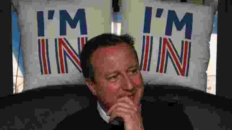 David Cameron realizou plebiscito em 2016 para decidir sobre permanência do Reino Unido na União Europeia - Getty Images - Getty Images