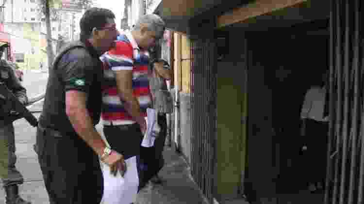 Cabo Leno ao ser detido e apresentado à Justiça Militar do Pará em janeiro de 2019 - Divulgação/MP-PA - Divulgação/MP-PA