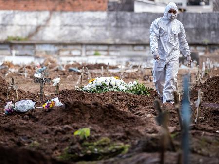 Nordeste tem 43% das mortes por covid em 24h; Brasil registra 65 ...