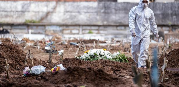 Pandemia no Brasil | Brasil ultrapassa a marca de 645 mil casos oficiais de covid e 35 mil mortes