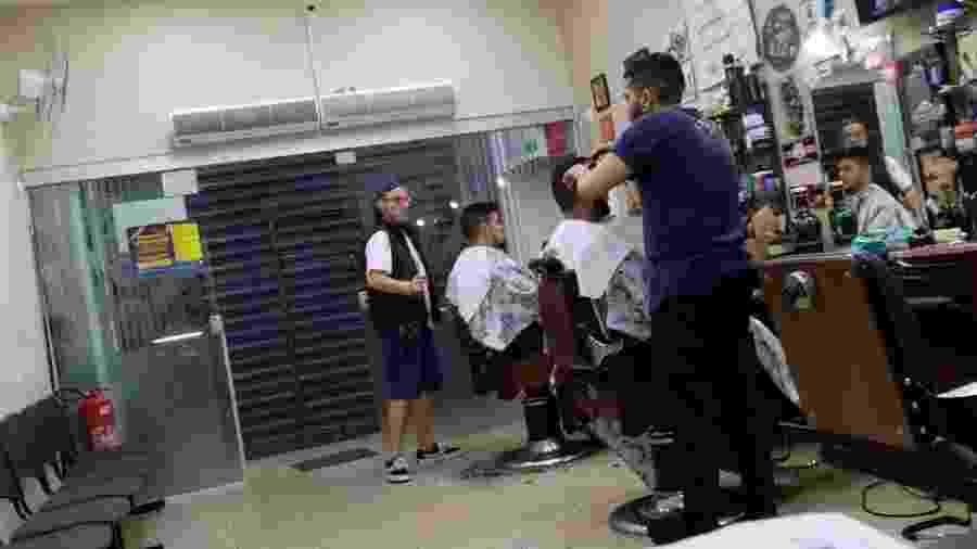 Barbearia Fiori, que sobreviveu à Gripe Espanhola, reabre em São Paulo na pandemia de coronavírus - Divulgação/Barbearia Fiori
