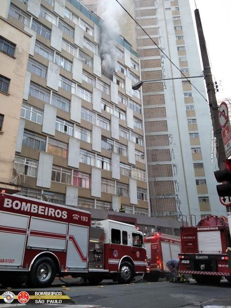Incêndio atinge apartamento no centro de São Paulo; mulher morre ...