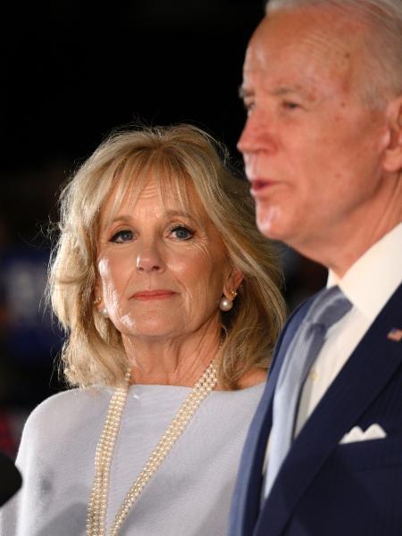 A professora Jill Biden, figura forte durante a campanha do marido à presidência americana. - Bastiaan Slabbers/NurPhoto via Getty Images