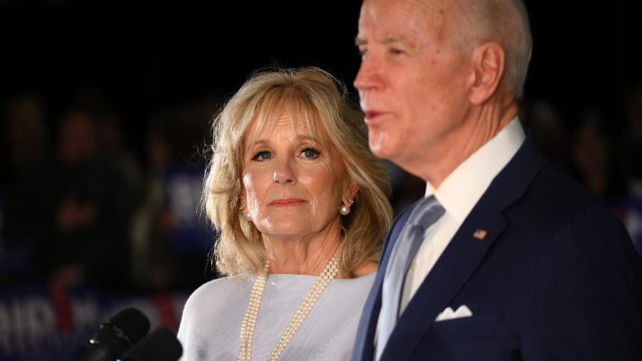 Doutora em Ciências da Educação, Jill Biden será destaque hoje na Convenção Nacional Democrata - Bastiaan Slabbers/NurPhoto via Getty Images