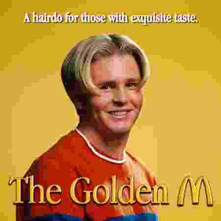 Cartaz da campanha que tenta relançar moda na Suécia - Divulgação/McDonald's - Divulgação/McDonald's