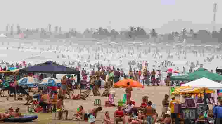 praia em sp - MINETO/FUTURA PRESS/ESTADÃO CONTEÚDO - MINETO/FUTURA PRESS/ESTADÃO CONTEÚDO