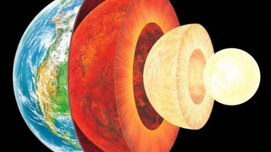 Terra é formada por várias camadas, como uma cebola - Science Photo Library