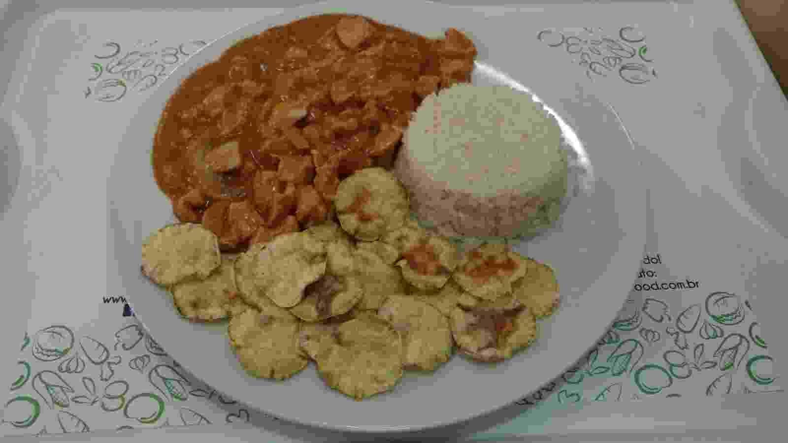 Strofonoff de carne da Mr Fit Fast Food - Divulgação