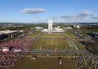 A polarização política em 360º - Marcelo Bassul/AFP