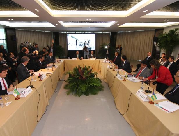 Governadores dos Estados do Nordeste se reúnem em Maceió para elaborar uma carta ao governo interino de Michel Temer