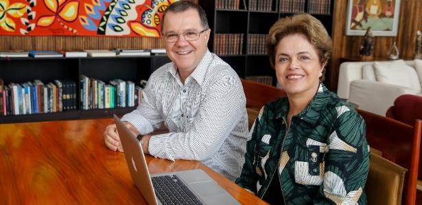 Dilma Rousseff participou de bate-papo com o ex-ministro da Previdência Social Carlos Gabas durante período de afastamento da presidência