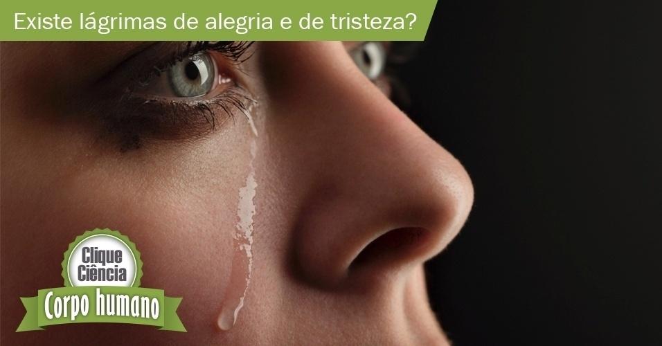 Qual a diferença entre lágrimas de alegria e de tristeza?