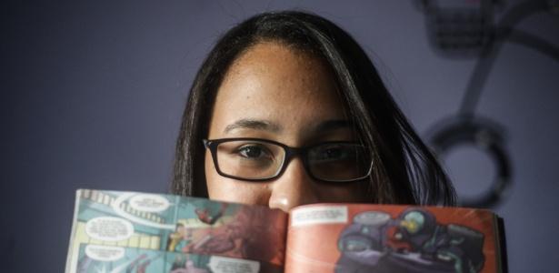 Alessandra Santos, de 18 anos, vai prestar o Enem pela segunda vez - Gabriela Biló/Estadão Conteúdo