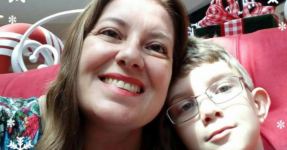 Isamara Filier (41) e João Victor Filier de Araujo (8), mortos em Campinas