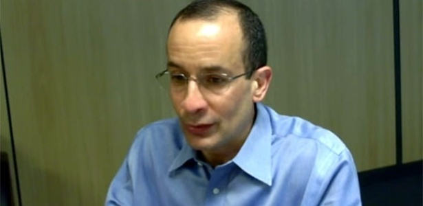 Marcelo Odebrecht durante depoimento