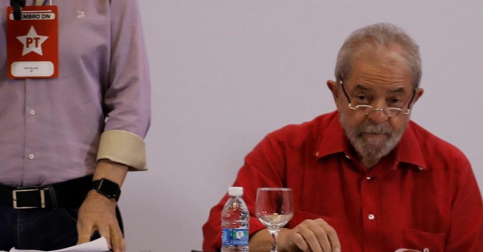24.mar.2017 - Ex-presidente Luiz Inácio Lula da Silva em evento em São Paulo