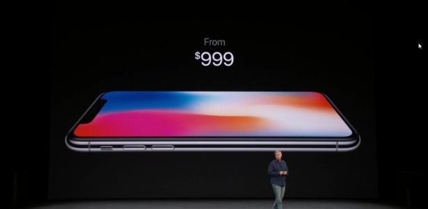 iPhone X tem preço bastante salgado