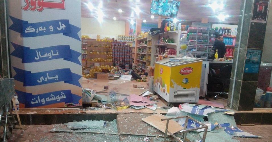 Magnitude 7.3 | Terremoto entre Iraque e Irã já registra 330 mortos