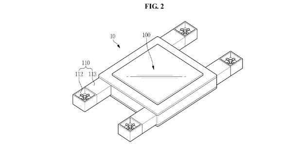 Patente da Samsung de drone com tela integrada