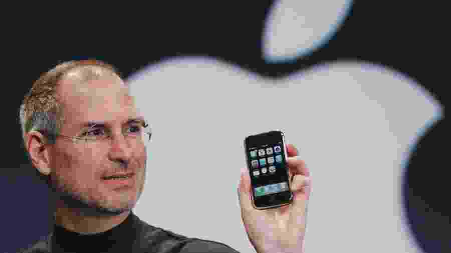 Steve Jobs, um dos criadores da Apple, era filho de imigrantes - Reproodução