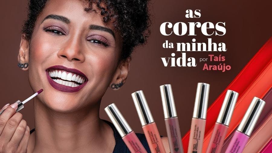 Atriz Taís Araújo é o rosto da marca Quem Disse, Berenice? desde junho deste ano - Divulgação