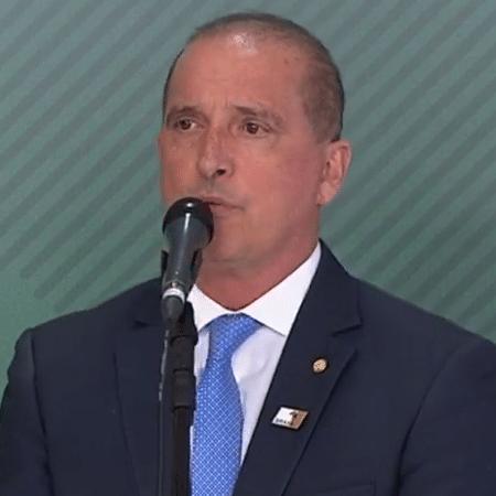 Onyx Lorenzoni, ministro-chefe da Casa Civil do Brasil - 03.jan.2019 - Reprodução/NBR