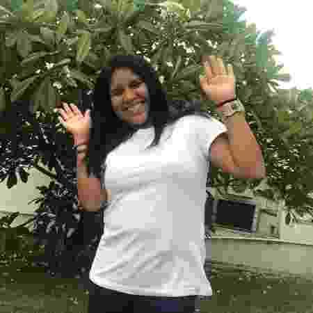 índia Kajutiti Lulu Kamayurá, 20 anos, filha da ministra Damares - Hugo Alves/UOL - Hugo Alves/UOL