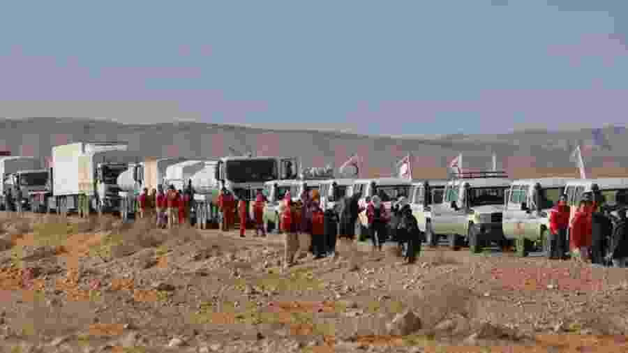 Crescente Vermelho sírio/AFP