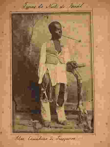 Tráfico interprovincial criou fluxo de escravizadoss do Norte e Nordeste para os cafezais do Sudeste - Acervo Biblioteca Nacional/BBC - Acervo Biblioteca Nacional/BBC