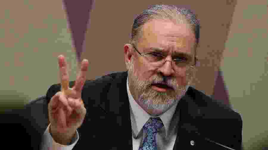 Augusto Aras durante sabatina na CCJ - Pedro Ladeira/Folhapress