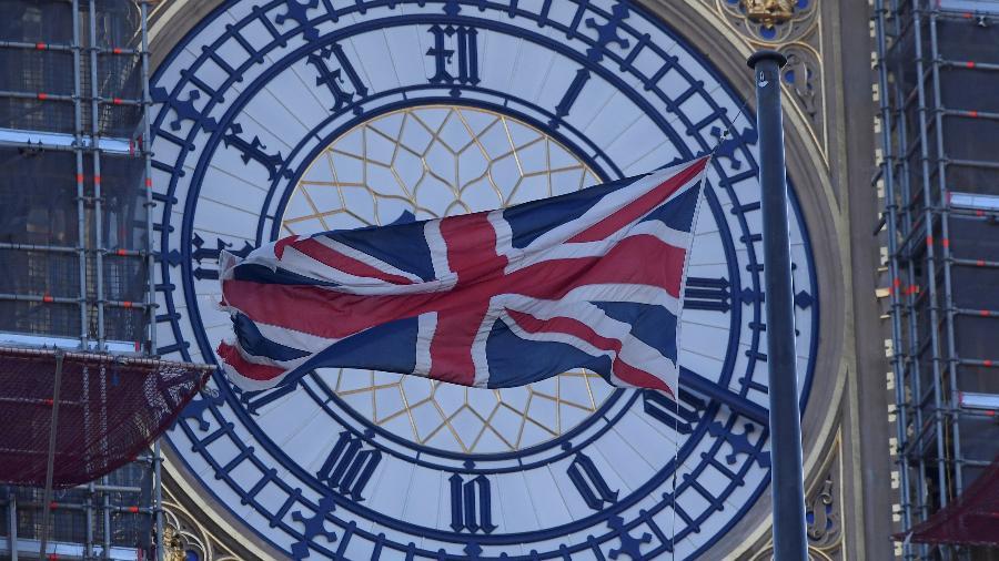 Relógio Big Ben, na torre do Parlamento do Reino Unido - Toby Melville
