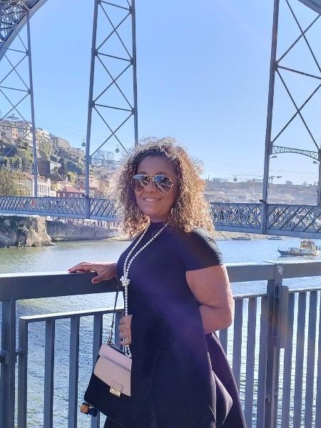 """""""É surreal o que estamos passando"""", diz a advogada Claudinéia de Souza Araújo, que não consegue sair de Portugal - Arquivo pessoal"""