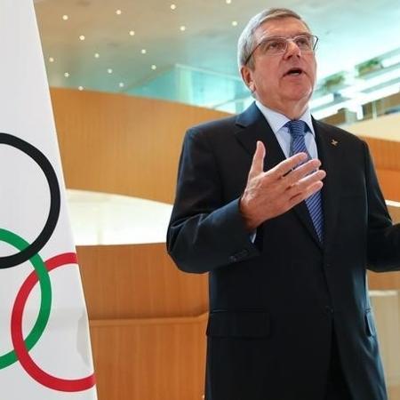 Presidente do Comitê Olímpico Internacional (COI), Thomas Bach - DENIS BALIBOUSE