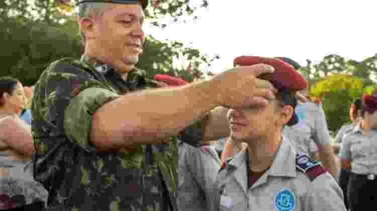Em Curitiba, pais de estudantes do Colégio Vila Militar elogiam método de ensino da unidade - Divulgação/Colégio Vila Militar - Divulgação/Colégio Vila Militar