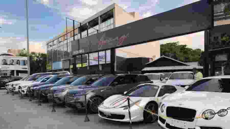 Garage Store, concessionária localizada na Barra da Tijuca, no Rio - Reprodução
