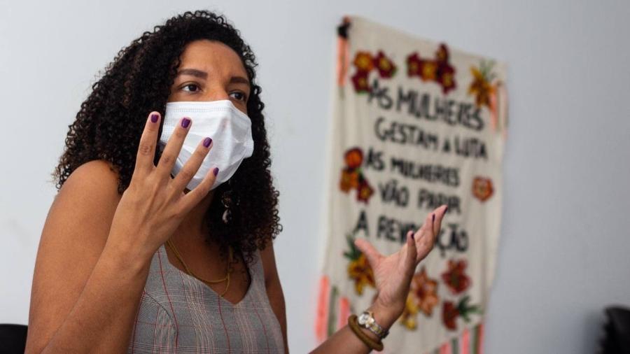Renata Souza, candidata à prefeitura do Rio de Janeiro pelo PSOL - Reprodução/Facebook