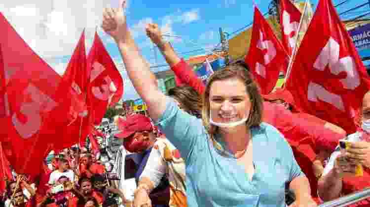 Marília Arraes (PT) perdeu no Recife - Divulgação - Divulgação