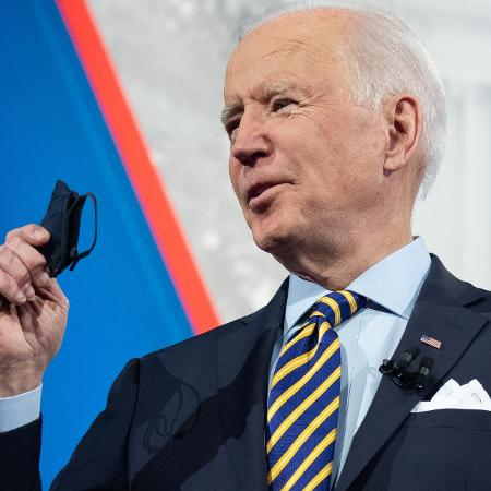 Arquivo - O presidente dos EUA, Joe Biden, deve anunciar em breve que as tropas americanas sairão do Afeganistão até 11 de setembro - Saul Loeb/AFP