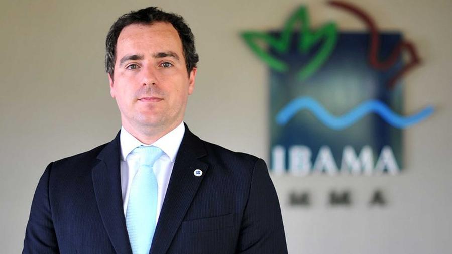O presidente do Ibama, Eduardo Fortunato Bim - Divulgação/Ibama