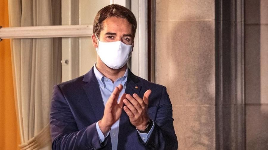 """""""Do jeito que vai, a gauchada estará imunizada para a Semana Farroupilha, em 20 de setembro!"""", anunciou Eduardo Leite - Reprodução/Instagram"""