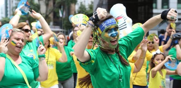 Grupo faz protesto contra Lula em frente ao Masp, em São Paulo - Marcelo D.Sants/Framephoto/Estadão Conteúdo