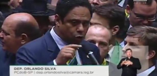Ex-ministro do Esporte, Orlando Silva (PCdoB-SP) votou contra o impeachment da presidente Dilma Rousseff (PT)