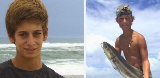 Perry Cohen e Austin Stephanos, de 14 anos, desapareceram em alto-mar há nove meses