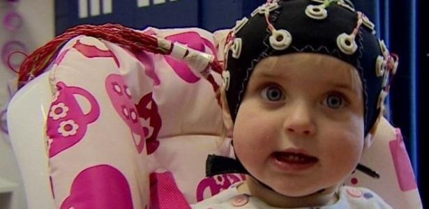 Sensores são usados em estudo para iinvestigar ondas cerebrais dos bebês