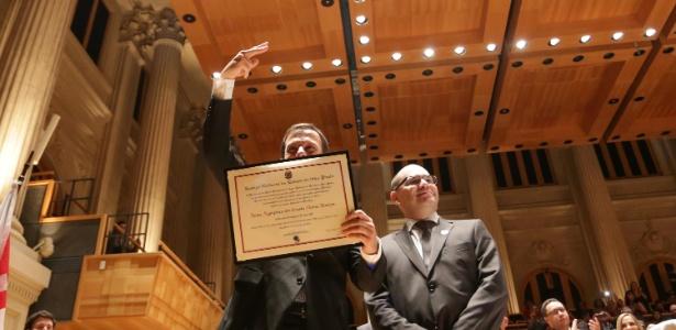 João Doria Júnior recebe diploma de prefeito de SP